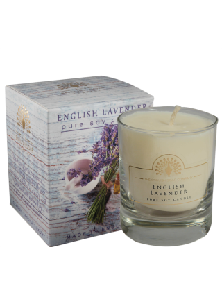 The House of Saponi English Lavender Soya Candle