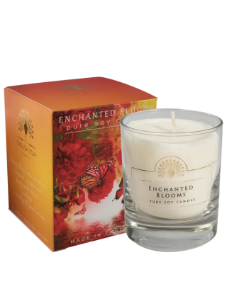 The House of Saponi Enchanted Blooms Pure Soya Candle