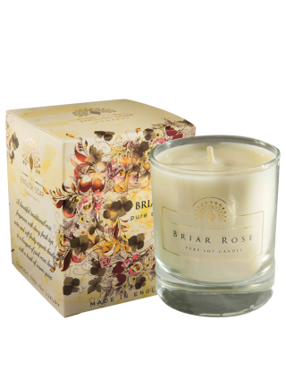 The House of Saponi Briar Rose Pure Soya Candle