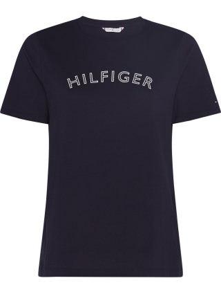 Tommy Hilfiger REGULAR C-NK T-SHIRT BLÅ