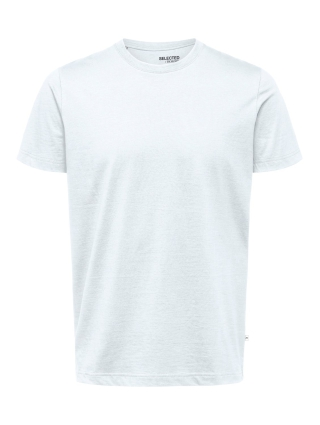 Selected Homme NORMAN180 T-SHIRT  NOOS VIT