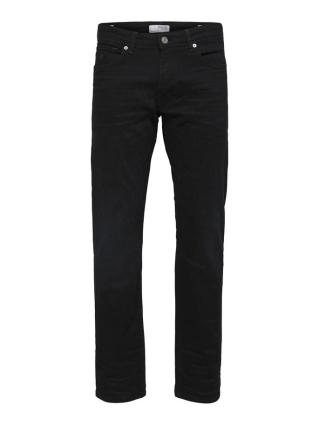 Selected Homme Straight-Scott 6292 Jeans Svart