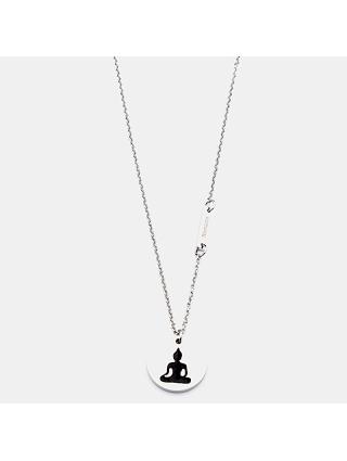 7EAST Namaste Halsband 45cm Stål