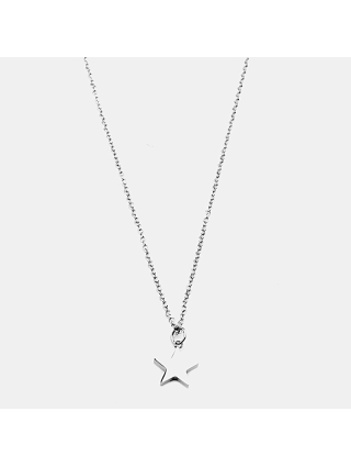 7EAST Star Halsband 42cm Stål