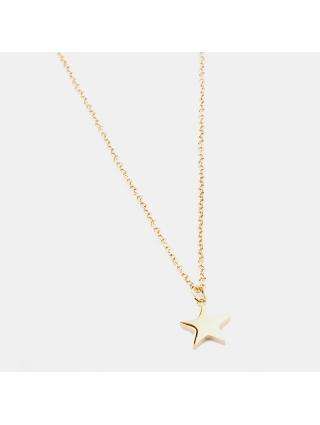 7EAST Star Halsband 42cm Guld