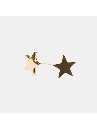 7EAST Star Örhänge Guld