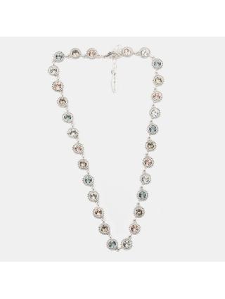 7EAST Gala Halsband 42cm Silver