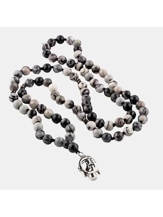 7EAST Buddha Halsband Svart