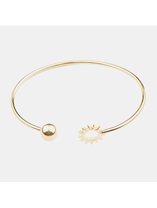 7EAST Sun Armband Guld